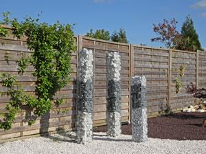 Moderner Kiesgarten