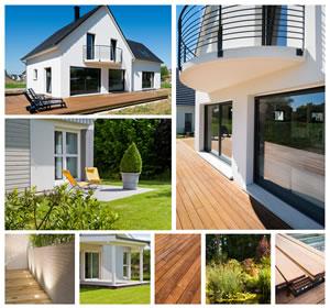 terrassengestaltung mit holz und stein ideen. Black Bedroom Furniture Sets. Home Design Ideas