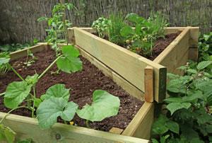 hochbeet selber bauen anlegen und bepflanzen bauanleitung. Black Bedroom Furniture Sets. Home Design Ideas