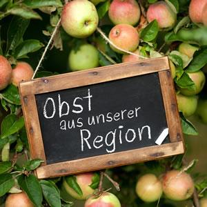Obst aus der Region